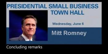 Mitt Romney To NFIB: Tell Employees Their Job Depends On How They Vote