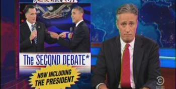 The Daily Show: The Second Debate, Now Including The President