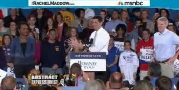 Maddow Debunks Romney's List Of Ways He's Unlike Bush