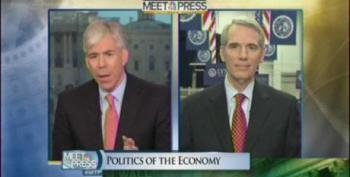 Gregory Asks Portman For Specifics On Romney's Economic Plan, Gets None