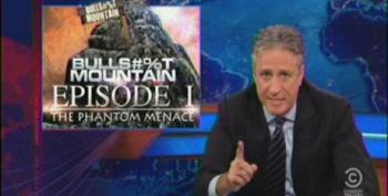 Jon Stewart Slams The Media For Parroting 'Not Optimal-Gate' From Bullsh*t Mountain