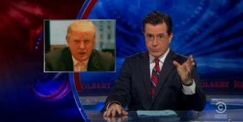 Stephen Colbert Offers Donald Trump $1,000,000