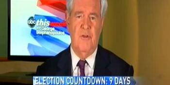 Gingrich On Mourdock's Rape Comments: Stephanie Cutter Should 'Get Over It'