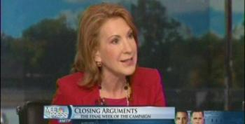 Carly Fiorina Tries To Airbrush Romney's Opposition To Auto Bailout