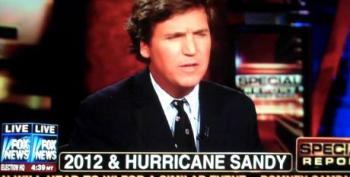 Tucker Carlson's Stupidly Says Independents Will Blame Obama For Hurricane Sandy