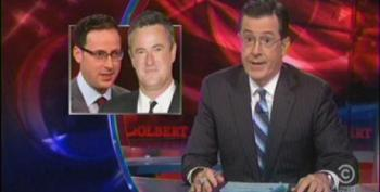 Colbert Mocks Scarborough For Trusting His 'Gut' Over Nate Silver's 'Math'