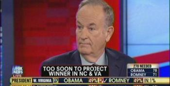 O'Reilly Blames Potential Romney Loss On Hurricane Sandy