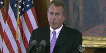 Boehner Offers 'Compromise' To Obama: Let's Not Raise Taxes
