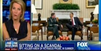 Fox Suggests Holder Getting Second Term To Cover Up Petraeus Scandal