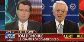 Cavuto Bemoans U.S. Chamber Of Commerce's Donohue Not Being Invited To The White House