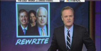 Lawrence O'Donnell Tears Into BFFs Graham And McCain For Hypocrisy On Rice Appointment