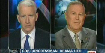 Anderson Cooper Tells Dana Rohrabacher He's Got His Facts Wrong On Benghazi