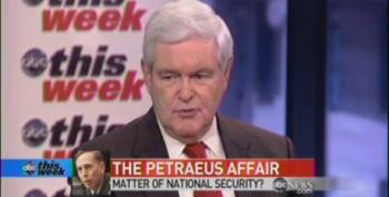 ABC Producers Think America Cares What Newt Gingrich Thinks About Petraeus Affair