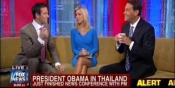 Fox Responds To Obama's Thailand Press Conference: The Thai PM Is Attractive