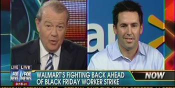 Fox Airs Pro-Walmart Segment Attacking Black Friday Strike 'Brought To You By Walmart'