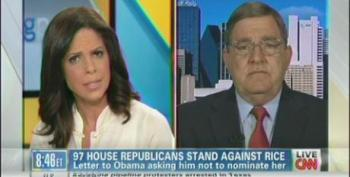 Soledad O'Brien Has GOP Rep Twisted In Knots Trying To Defend Hypocrisy On Benghazi
