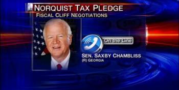 Saxby Chambliss Edges Away From Norquist Anti-Tax Pledge