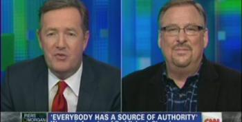 Rick Warren Compares Being Gay To 'Punching A Guy In The Nose' And Arsenic