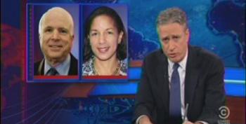 Jon Stewart Takes McCain And Graham To Task For Hypocrisy Of Susan Rice Attacks