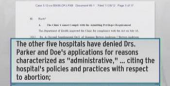 Maddow Tears Into Mississippi Republicans For Closing State's Sole Abortion Clinic
