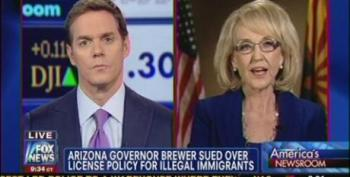 Gov. Jan Brewer Compares Undocumented Immigrants To Drunk Drivers And Children