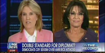 Fox's Van Susteren And Palin Still Beating Dead Horse 'Benghazi-Gate'