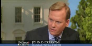 CBS' Dickerson: Republicans Will Want A 'Pound Of Flesh' From Obama For Increasing Tax Rates