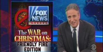 Jon Stewart Takes Apart Fox And O'Reilly For 'War On Christmas'