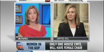 Rep. Blackburn Excuses Lack Of Women In GOP Leadership