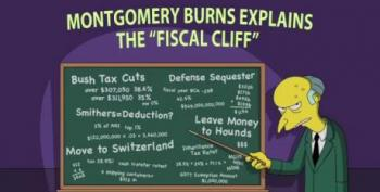 Montgomery Burns Explains The 'Fiscal Cliff'