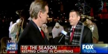 'Tis The Season For Fox News To Shove Christ Down Our Throats