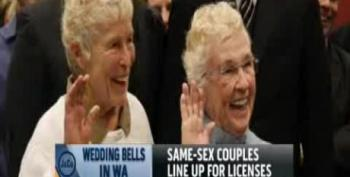 Washington State Begins Issuing Marriage Licenses For Same-Sex Couples