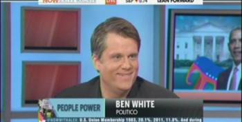 Politico's Ben White Ignores 'Free Riders' While Carrying Water For Rick Snyder's Union Busting