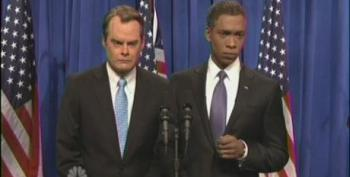 SNL's Obama Takes Pity On Boehner During 'Fiscal Cliff' Negotiations