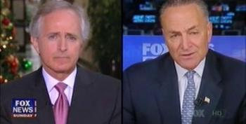 Sen. Corker: Debt Ceiling Is Republican 'Leverage' To Cut 'Entitlements'
