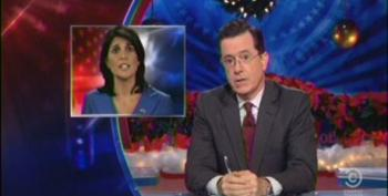 Colbert Continues To Push For Haley To Name Him As DeMint Replacement