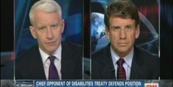 Anderson Cooper Takes On Home Schooling Crank Michael Farris Over U.N. Disability Treaty
