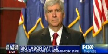 Rick Snyder: I'm All About Being Pro Worker