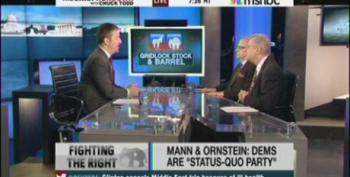 Chuck Todd Can't Stop Playing Media False Equivalency Game While Pretending It Doesn't Exist