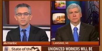 Gov. Snyder: 'Right To Work' Will 'Make Unions More Effective'