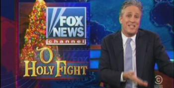 Jon Stewart 'Apologizes' For Making Fun Of Fox's Ginned Up 'War On Christmas'