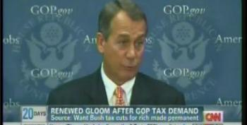 GOP Counter-Offer On 'Fiscal Cliff' Talks: Make Bush Tax Cuts For Wealthy Permanent