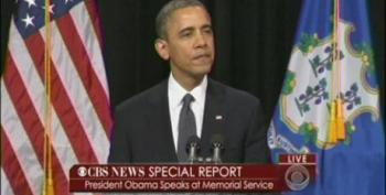 President Obama Promises To Launch Effort To Reduce Gun Violence At CT Memorial Service