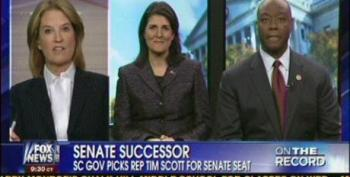 Gov. Nikki Haley On Scott Appointment: 'He Earned This'