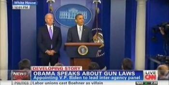 Press Refuses To Ask About Guns During Obama's First-Ever Gun Control Press Conference