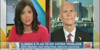 FL Gov. Rick Scott Refuses To Answer Soledad O'Brien's Questions On Gun Control