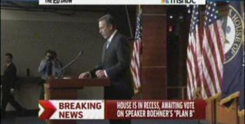 Boehner Calls Off Vote On 'Plan B'
