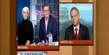 Scarborough Smacks Down Tea Party Rep.: How Dare You Accuse Me Of Politicizing Guns?