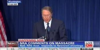 Protesters Heckle Wayne LaPierre: 'NRA Has Blood On Its Hands'