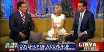 Fox Pretends Benghazi Is 'Greatest Cover-up' Evah!